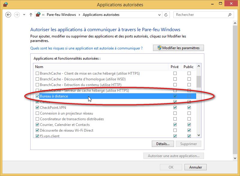 Windows 7 bureau a distance port - Activer le bureau a distance windows 7 ...