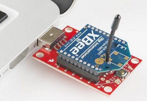 Photo XBee USB Explorer sparkfun