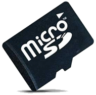 Photo carte micro SD